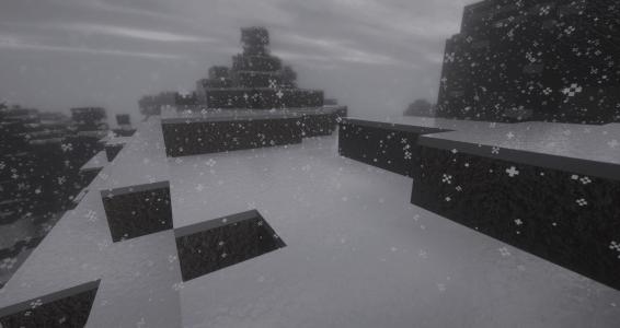 BeyondBelief Shader : Tempête de neige