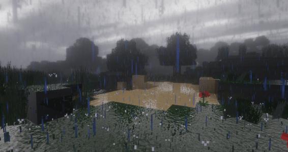 BeyondBelief Shader : Effet de la pluie