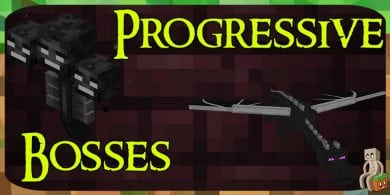Photo of [Mod] Progressive Bosses [1.12.2 – 1.14.4]