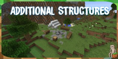 Photo of [Mod] Additional Structures [1.12.2]