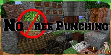 Photo of [Mod] No Tree Punching [1.12.2]