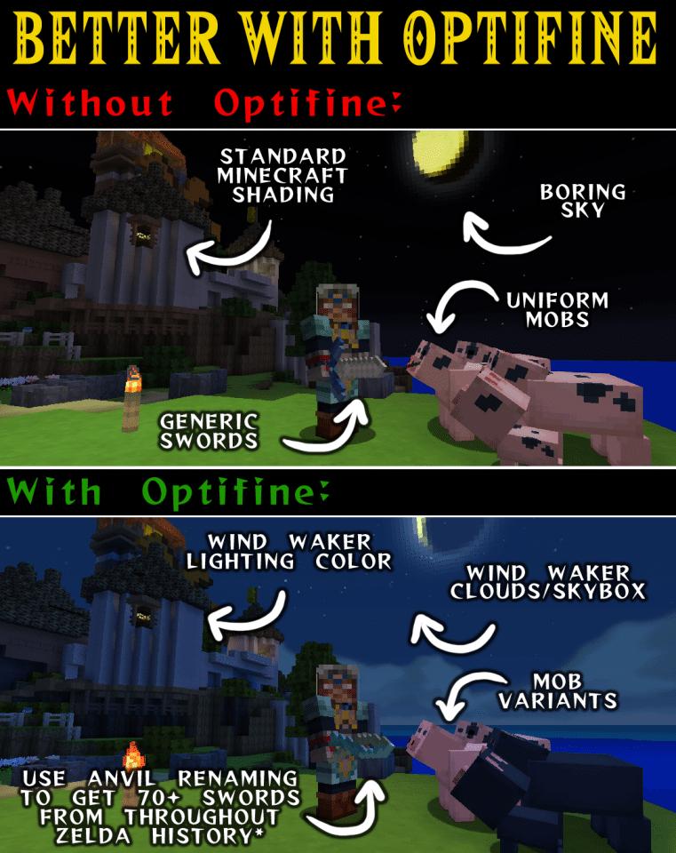 Resource pack] Wind Waker Edition [1 12 - 1 14] - Minecraft