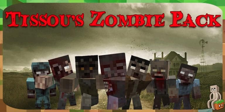 Resource Pack : Zombie Pack [1.7 - 1.16]