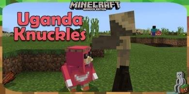 Photo of [Addon Bedrock] Uganda Knuckles