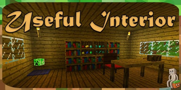 Mod] Useful Interior [1.12.2] - Minecraft-France
