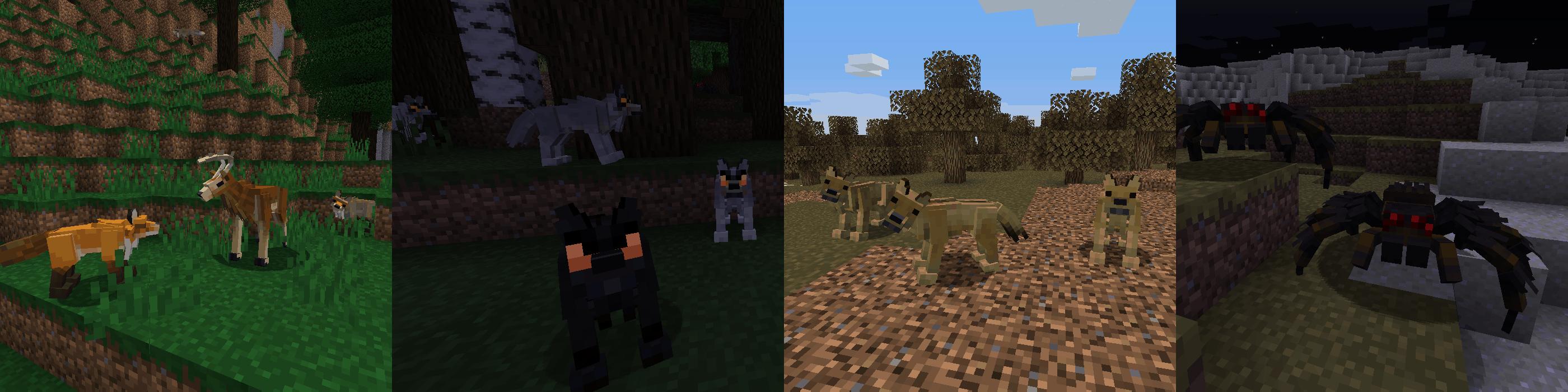 Mod] Better Animals Plus [1 12 2 - 1 14 4] - Minecraft-France