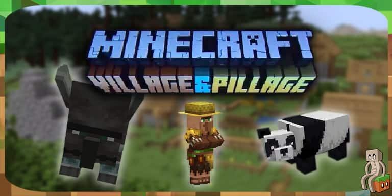 Annonce De La Mise A Jour Village Pillage Minecraft France
