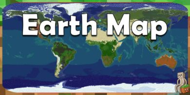 Photo of [Map] Minecraft Earth Map [1.13+]