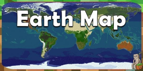 Map] Minecraft Earth Map [1.12 - 1.13+] - Minecraft-France
