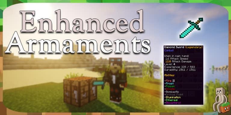 Mod] Enhanced Armaments [1.12.2] , Minecraft,France