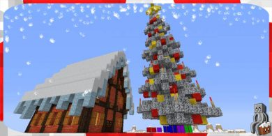 Photo of [Resource Pack] Zedercraft Christmas HD [1.13]