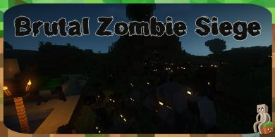 Photo of [Mod] Brutal Zombie Siege [1.12.2]