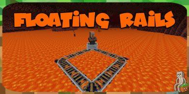 Photo of [Mod] Floating Rails [1.7.10 – 1.12.2]