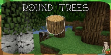 Photo of [Resource Pack] Round Trees [1.13 – 1.16]