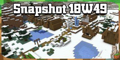 Photo of Minecraft 1.14 : Snapshot 18w49a