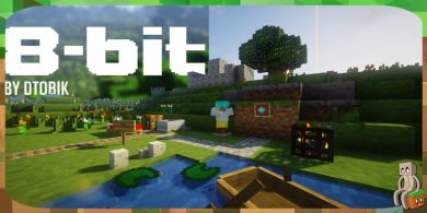 Photo of [Resource Pack] 8-bitCraft [1.13]