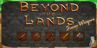 Photo of [Resource Pack] Beyond the Lands – Fancy Weapons [1.13 – 1.14]