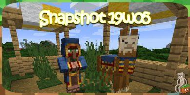 Photo of Minecraft 1.14 : Snapshot 19w05a