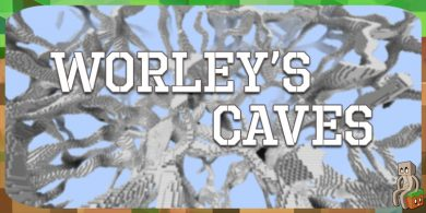 Photo of [Mod] Worley's Caves [1.10.2 – 1.15.2]