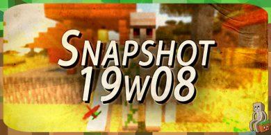 Photo of Minecraft 1.14 : Snapshot 19w08b