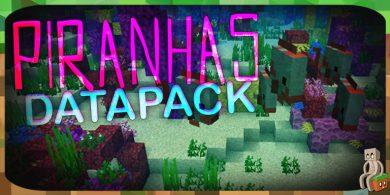 Photo of [Datapack] Piranhas [1.13.2]