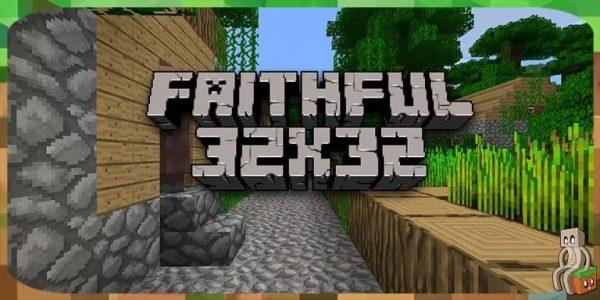 Resource Pack Faithful pour Minecraft 1.7.10 à 1.16