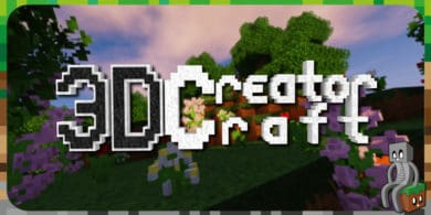 Photo of [Resource Pack] 3D CreatorCraft [1.9 – 1.15]