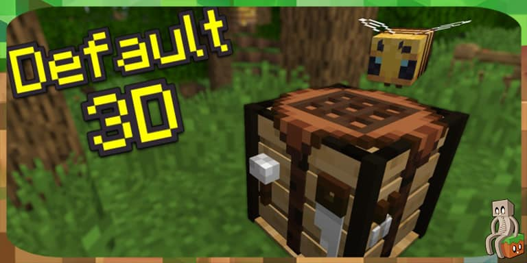 Resource Pack : Default 3D [1.8 - 1.16]