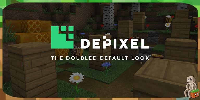 [Resource pack] Depixel [1.14 - 1.16]