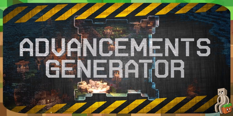 Outil advancements generator minecraft france - Outil minecraft ...