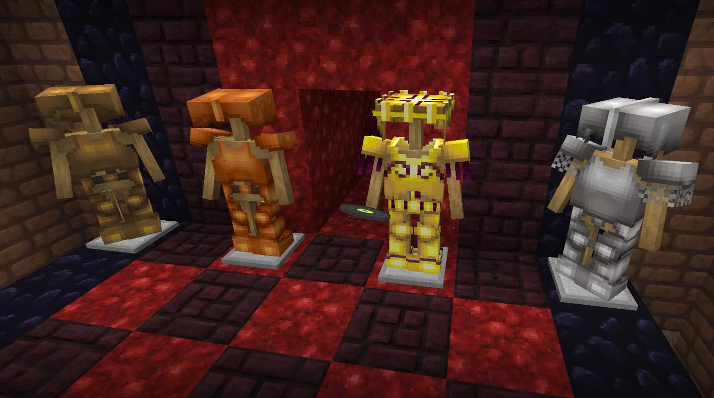 Resource pack Lithos : Les sets d'armures