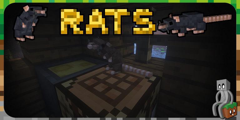 Mod : Rats [1.12.2 - 1.15.2]