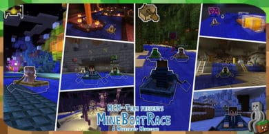 Photo of [Map] MineBoatRace [1.14]