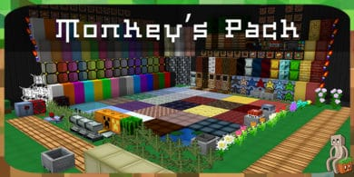 Photo of [Resource Pack] Monkey's Pack [1.14]
