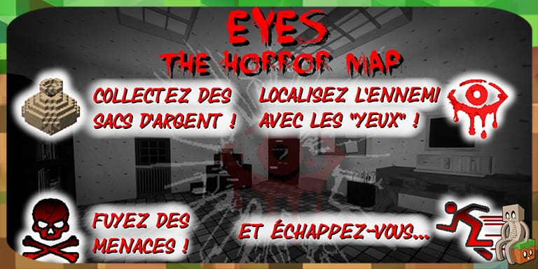Map] Eyes the horror map [1 12 2] - Minecraft-France