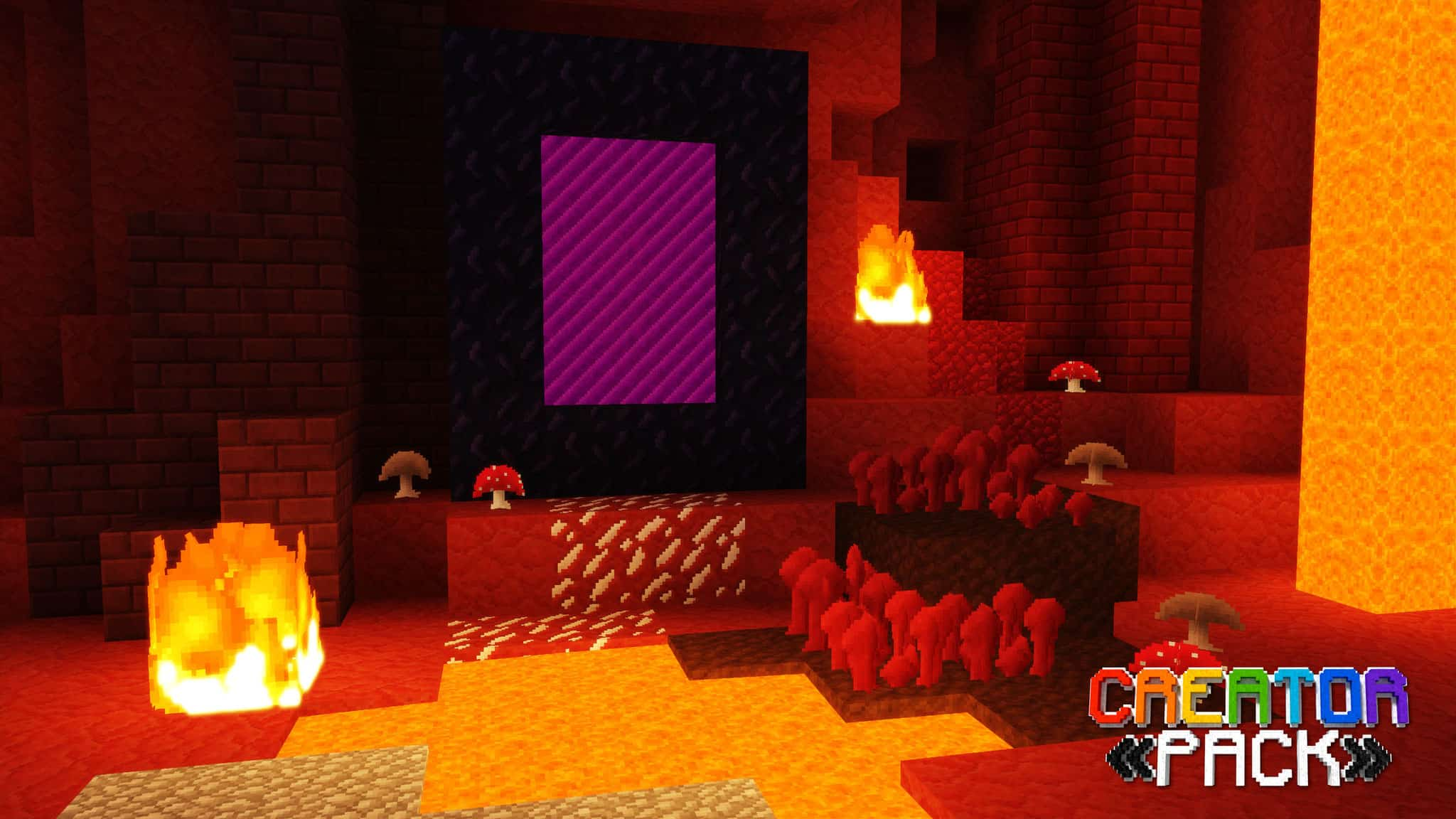 Creator pack - Portail du Nether