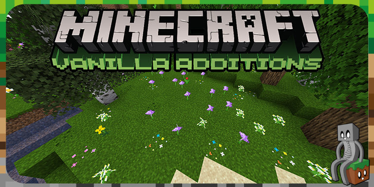 Resource Pack : Vanilla Additions [1.14 - 1.16]