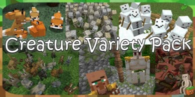 Photo of [Resource Pack] Creature Variety Pack [1.14]