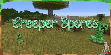 Photo of [Mod] Creeper Spores [1.14.4 – 1.16]