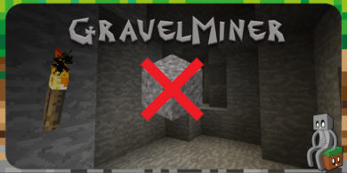Photo of [Mod] GravelMiner [1.7.10 – 1.15.1]