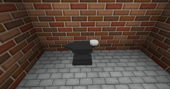 Pixelmon : Une forge posée au sol
