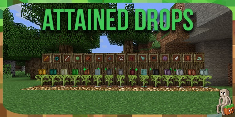 Mod : Attained Drops