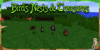 Photo of [Mod] Birds Nests & Treasures [1.14.4]