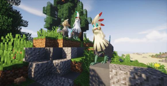 Pixelmon : Des pokemon légendaires