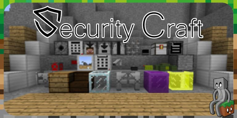 Mod : SecurityCraft