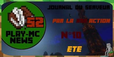 Photo of Play-Mc-News N°10 – ÉTÉ