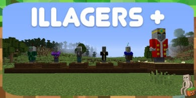 Photo of [Mod] Illagers+ [1.12.2 – 1.14.4]