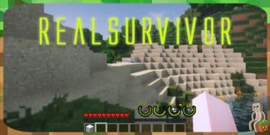 Photo of [Mod] RealSurvivor [1.12.2 – 1.14.4]