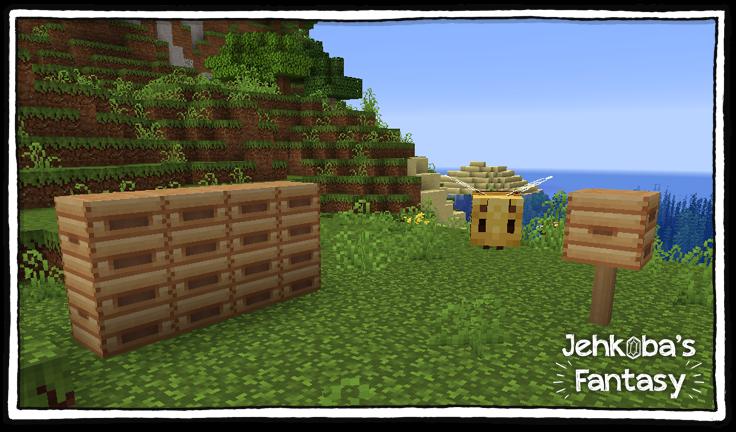 L'abeille dans Minecraft