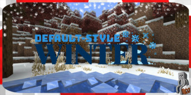 [Resource Pack] Default Style Winter [1.14]